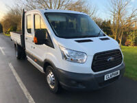 2016 16 FORD TRANSIT TIPPER 350 2.2TDCI 125BHP RWD L3 H1 1 OWNER ANY UK DELIVERY