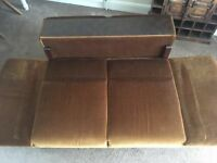 2 seater single sofa bed. Parker knoll