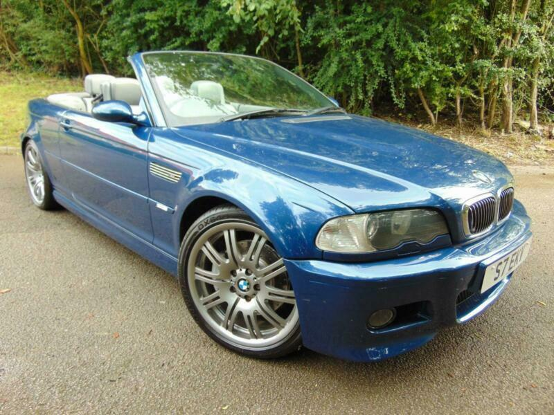 BMW M3 E46 3 2 2002 M3 SMG Convertible Cabriolet Blue   in Knaresborough,  North Yorkshire   Gumtree