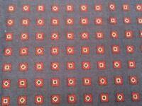 Navy cotton fabric