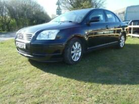 image for 2006 Toyota Avensis 1.8 VVT-i T3-S 4dr SALOON Petrol Manual