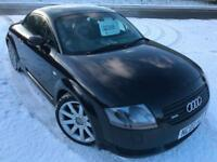 AUDI TT COUPE 1.8T 225 QUATTRO FSH NEW TURBO LEATHER CD AIR CON COUPE 2002