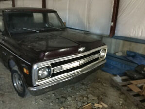 1969 Chevy pickup for sale