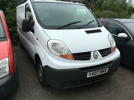 Renault Trafic 2.0TD LL29dCi 115 2007/07 CHOICE OF 5