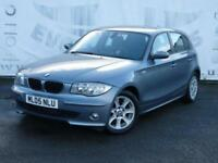 2005 BMW 1 SERIES 116I SE 5 DOOR HATCHBACK LOW MILEAGE 16 INCH ALLOY WHEELS REAR