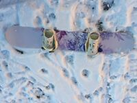 Female Snowboard