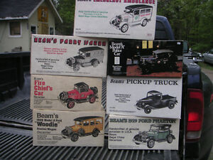 Jim Beam Car Decanters MINT IN BOXES  50+ cars Get One for Dad! Peterborough Peterborough Area image 6