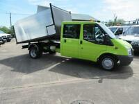 Ford Transit 350 New Build Tree surgeon Arb Tipper 31,000 miles Double Crew Cab
