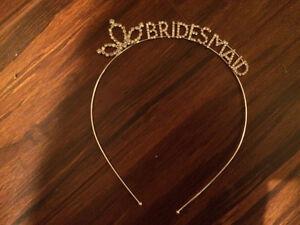 Silver/Glitter Bridesmaid Headband London Ontario image 1