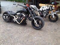Custom Harley one off