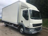 2013 13 DAF LF 45.160 euro5 20ft grp box tail-lift 188kms