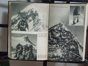 1955 book by Wilfrid Noyce: South Col route up Mt. Everest