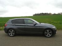 2011/61 BMW 1 SERIES 2.0 120d SPORT 5DR GREY - LOW MILEAGE - ECONOMICAL