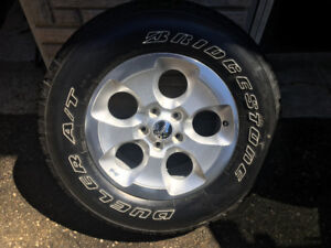 Jeep JK Wrangler Wheels and Tires (4)  for sale