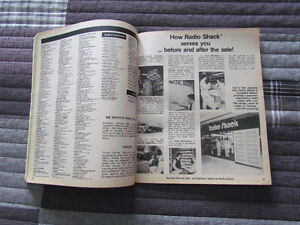 1979 Radio Shack Catalog- Intact and in VG Condition Peterborough Peterborough Area image 5