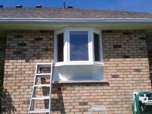 Eavestrough Cleaning , Aluminum Capping, Windows , Doors