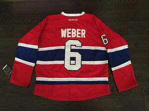 BNWT MONTREAL CANADIANS SHEA WEBER JERSEY