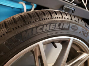 "Michelin Pilot Sport Alpin PA4 18"" Winter Tires (Tires Only)"