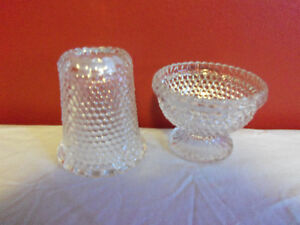 Vintage Clear Hobnail Fairy Lamp 1970's Prince George British Columbia image 3