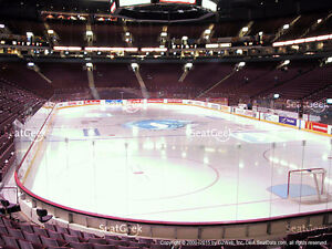 Vancouver Canucks Tickets - Section 101 Row 11 Seats 103&104