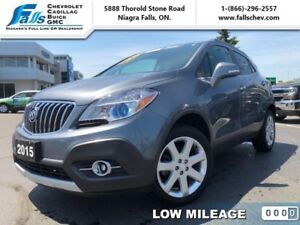2015 Buick Encore Premium AWD  SUNROOF,R.START,AWD,LEATHER,NAV,1