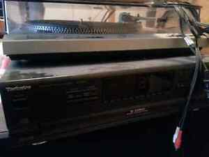 TECHNICS TURNTABLE SL-D202 Direct Drive NO BELTS Good for DJ