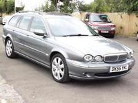 Jaguar X-TYPE 2.2D Estate, 2006 SE, Sat Nav, Leather, FSH, 6 Months AA Warranty