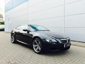 2006 56 reg BMW M6 5.0 V10 Coupe Black with RED Leather + HUGE SPEC