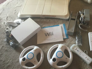Nintendo Wii System with controls
