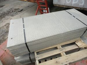"""**** Salvaged Aluminum Checker Plate  3/8"""" Thick ****"""