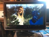 19 inch toshiba tv with built in DVD ,