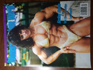 Women's Physique World  5 issues female bodybuilding