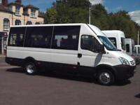 IVECO 17 SEAT WHEELCHAIR ACCESSIBLE MINIBUS CERTIFICATE OF INITIAL FITNESS TACHO