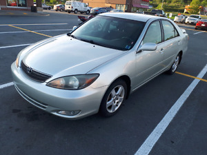 **SOLD**2004 Toyota Camry- Low kms- Manuel transmission