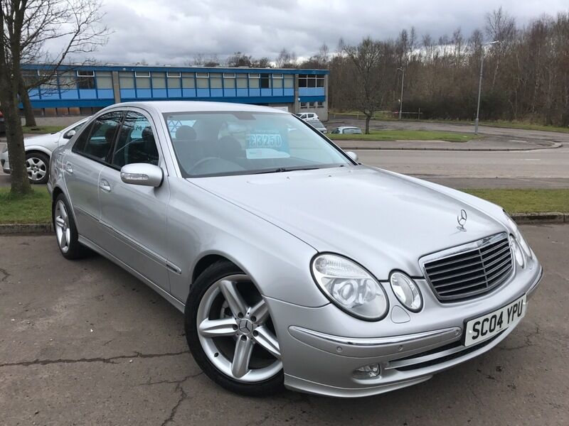 mercedes e class e 270 cdi avantgarde silver 2004 in east kilbride glasgow gumtree. Black Bedroom Furniture Sets. Home Design Ideas