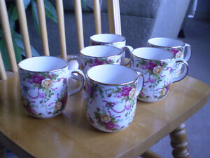 """Royal Albert - """" Old Country Roses """" - """" Ruby Celebration """""""