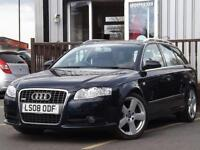 2008 Audi A4 2.0 TDi TDV S Line 5dr Multitronic 5 door Estate