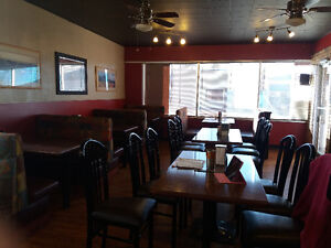 Two buildings with fully equipped restaurant equipment for lease