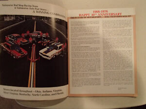 NATIONAL MOTORSPORTS ANNUAL 1976 - 10th Anniversary Issue - Spec Sarnia Sarnia Area image 3