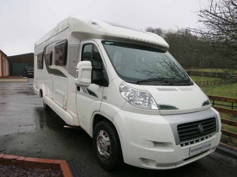 Bessacarr E572 Luxury Motorhome and Small Tow Car (Smart Car & A ...