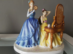 Royal Doulton Figurine - Dressing for the Ball - HN5580