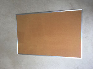 Large Corkboard Bulletin Board