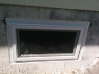 Basement Egress Windows Installed in Wood Foundations