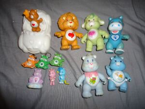 VINTAGE CARE BEARS POSEABLES
