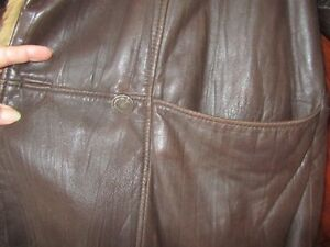 Genuine Leather and Fur Jacket Peterborough Peterborough Area image 7