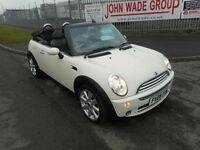 MINI COOPER CONVERTIBLE 2 DOOR MANUAL PETROL