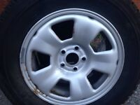 Renault scenic RX4 wheel and tyre