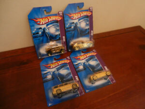 Hot Wheels Gold Rides Set of 4 2007 300C Escalade Etc.