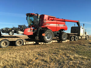 Farm Equipment hauling! Air drills, combines, Auction