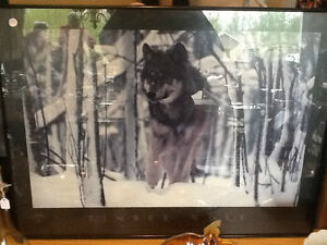 Brandenburg Photograph - Lithograph (Timber Wolf)